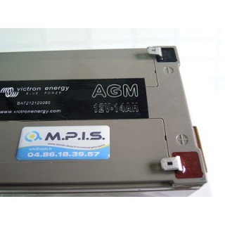Batterie AGM 12V-14Ah, Victron energy