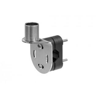 Support d'antenne Inox 4720 pour tout support, complet avec adaptateur nylon