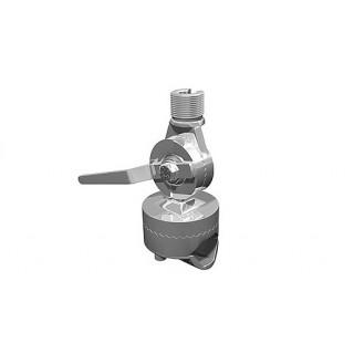 Rotule de balcon Inox cranté réglable Shakespeare 4188-SL pour tube 25~38mm