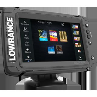 Sondeur GPS combiné Elite 7 Ti Total Scan 83/200/455/800KHZ