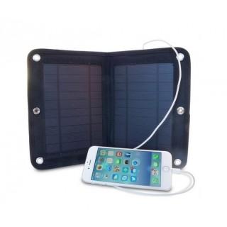 Panneau solaire nomade 6W 2500mAh pliable