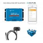 PACK Régulateur MPPT 100/50A + Bluetooth + appli smartphone