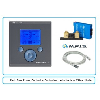 PACK Monitoring Blue Power Panel 2 + VBC