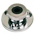 Presse-étoupe chromé câble 6mm