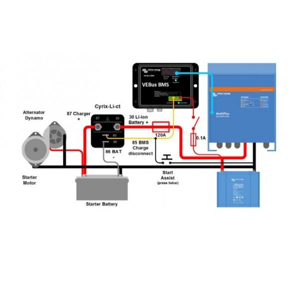 coupleur de batteries cyrix li ct 120a pour batterie lithium. Black Bedroom Furniture Sets. Home Design Ideas
