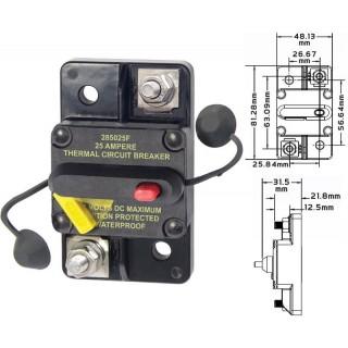 Disjoncteur thermique DC étanche montage saillie