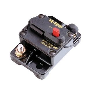 Disjoncteur thermique 12/24V DC montage saillie