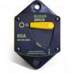 Disjoncteur thermique 12/48V DC encastrable