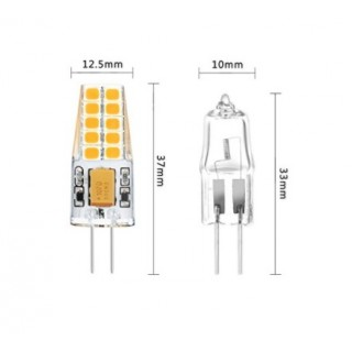 AMPOULE LED 12V 3W G4 blanc froid