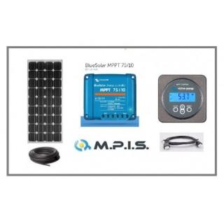 Kit solaire 12V/100W Mppt Pro Victron Luxor