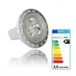 Ampoule Spot LED 12V-2W (20W) GU4 Blanc Froid