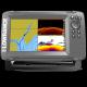 Sondeur GPS HOOK5-2 SplitShot + sonde TA 2D/Downscan