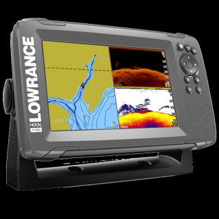 "Sondeur GPS HOOK2 7"" TripleShot + sonde TA CHIRP SC"