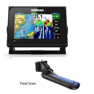 Simrad GO7 XSR Avec Sonde Total Scan