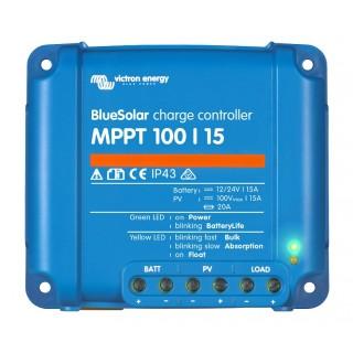 Régulateur de charge MPPT 100V-15A, Victron Energy, Garanti 5 ans.