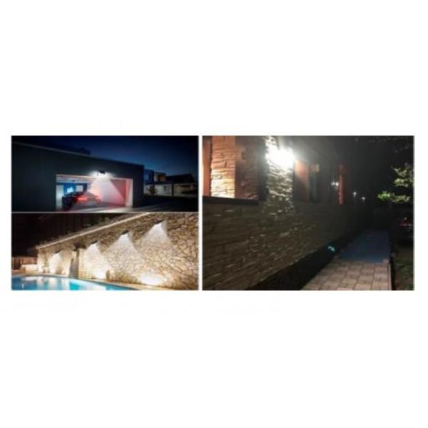 projecteur solaire 24 leds ip65 avec d tecteur de mouvement. Black Bedroom Furniture Sets. Home Design Ideas