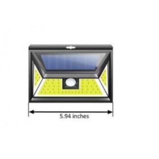 Projecteur solaire 44 LEDs IP65 avec détecteur de mouvement