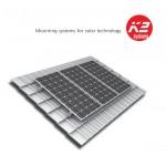 Kit de fixation K2S pour 2x4 panneaux solaires