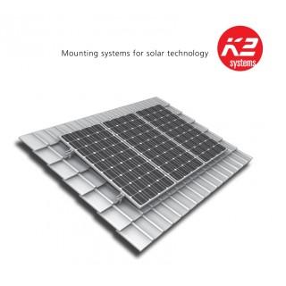 Kit de fixation K2S pour 3X4 panneaux solaires