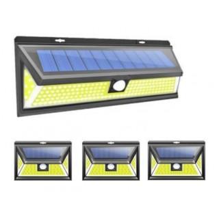 Pack éclairage LED solaire maison 4pcs