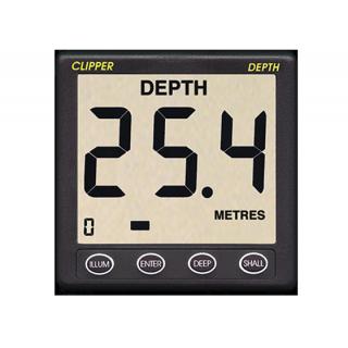 Sondeur Clipper avec sonde 150kHz, câble 7m et capot