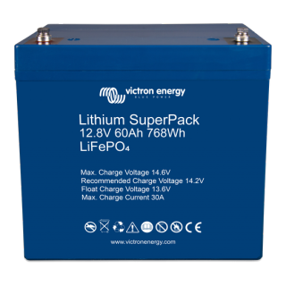Batterie lithium 12V-60Ah Superpack VICTRON