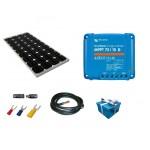 Kit solaire 12V-115W Mppt Smart Victron