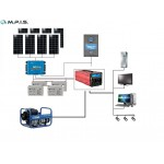 Kit solaire site isolé Victron 48V- 5KW Complet