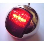 Feu de navigation LED rouge, 12V 1W, etanche, 1NM