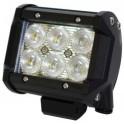PROJECTEUR LED 18W 3100Lux @ 1M, IP67, 9~32V ULTRA PUISSANT