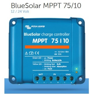 Régulateur de charge MPPT 75V-10A, Victron Energy, Garanti 5 ans.
