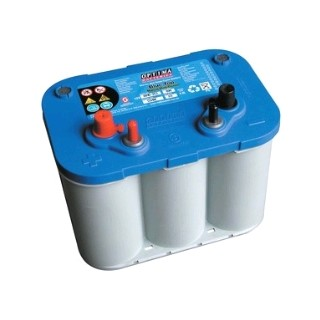 Batterie OPTIMA bleue-12V55Ah -690A