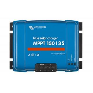 Régulateur de charge MPPT 12/24/36/48V-35A, Victron Energy, Garanti 5 ans.