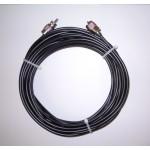 Rallonge 10 m de câble RG58 pour VHF/UFH avec prises PL259 soudés
