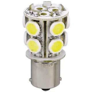 AMPOULE 10 LEDS BA15D 12V 1.8W (20W)