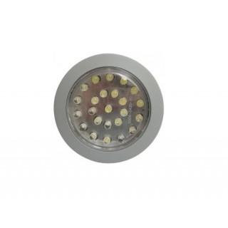 Spot 24 LEDs Blanc froid - 24V - Ø 75mm