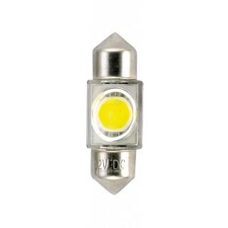 NAVETTE LED 12V 0.6W (5W) 10X35mm