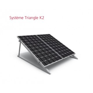 KIT support triangle K2 pour 4 modules photovoltaîques