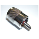 Prise PL-259 pour antenne VHF et câble coaxiale VHF RG58