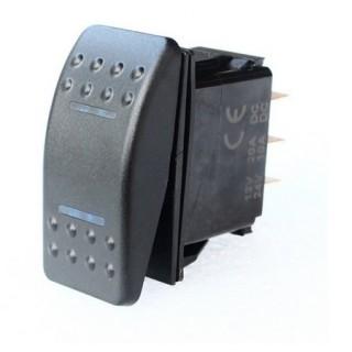Interrupteur à bascule OFF/ON/OFF Carling 2P 12/24V 10/20A LED