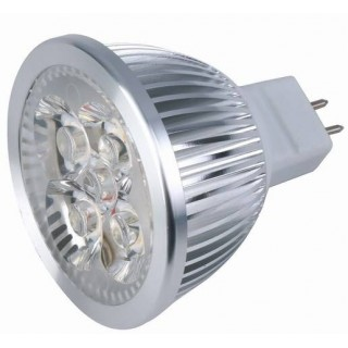 Ampoule Spot LED 12V-5W (50W) GU 5.3 Blanc Chaud