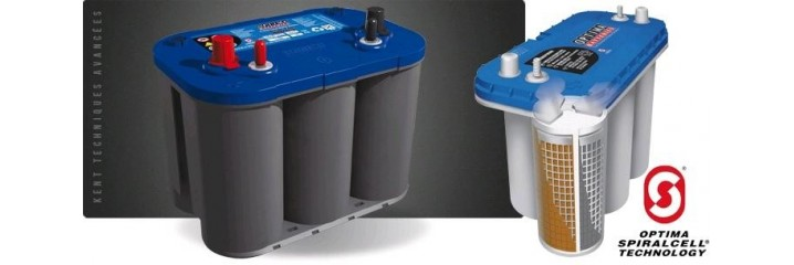 Batterie AGM plaques en spirales
