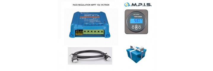 Pack de régulation MPPT