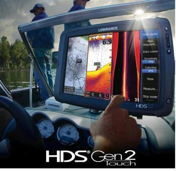 Echo-sondeur HDS Touch écran tactile