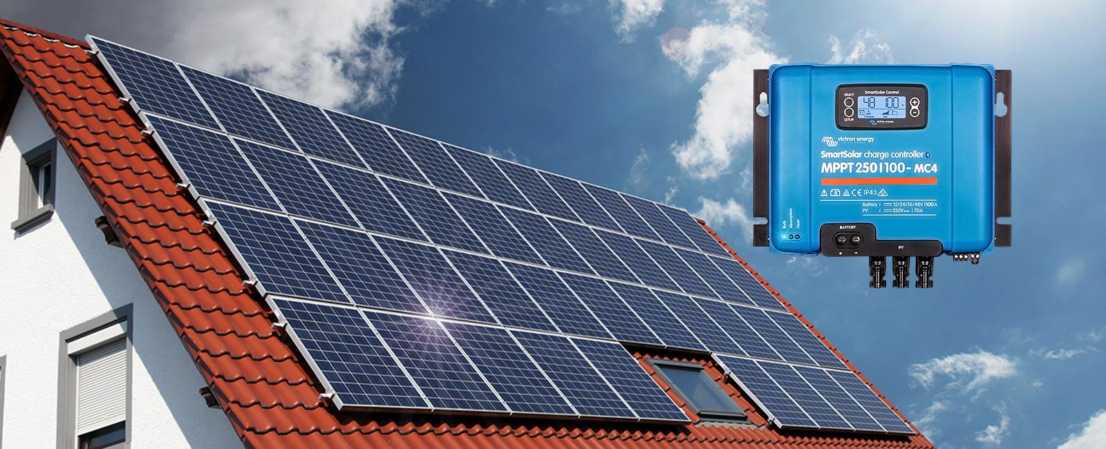 Régulateur Smart Solar Victron